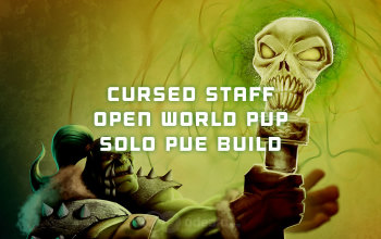 Cursed Staff Open World PvP/Solo PvE build for Albion Online - Odealo