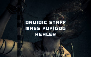 Druidic Staff mass PvP Healer build for Albion Online - Odealo