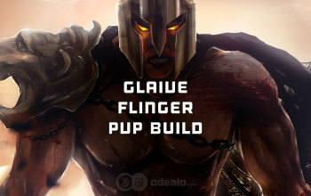 Glaive Flinger PvP build for Albion Online
