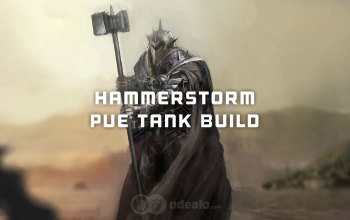 Hammer PvE Tank Albion Online build