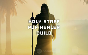 Holy Staff PvP Healer build for Albion Online