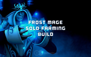 Frost Mage Solo PvE farming build for Albion Online
