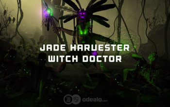 Jade Harvester Witch Doctor Season 13 Build - Diablo 3 RoS