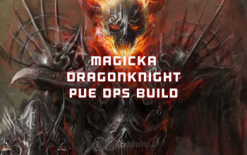 Magicka Dragonknight PvE DPS ESO build - Updated 2019
