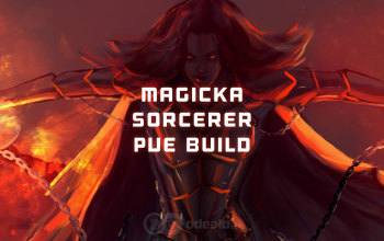 Magicka Sorcerer PvE DPS ESO build - Updated 2019