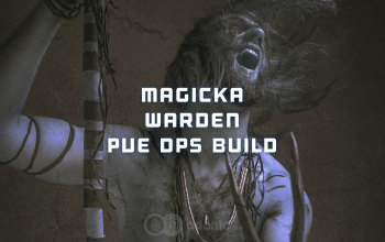 Magicka Warden PvE DPS ESO build