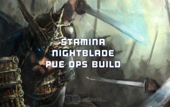ESO Stamina Nightblade PvE DPS build - Updated 2019