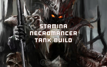 Stamina Necromancer The Undead Tank ESO build - Updated 2019