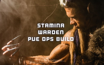 ESO Stamina Warden PvE DPS build - Updated 2019