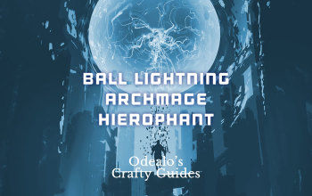 Ball Lightning Archmage Hierophant Build