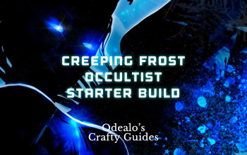 Creeping Frost Occultist Starter Build