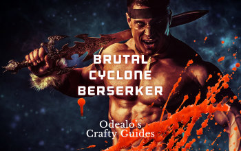 Cyclone Berserker Marauder build