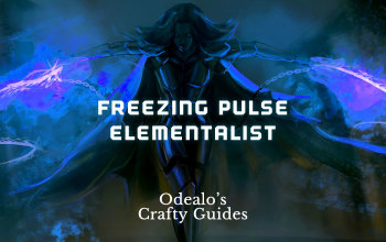 Freezing Pulse Elementalist Starter Build - Odealo's Crafty Guide