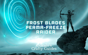 3 8]Frost Blades Perma-freeze Raider - Odealo's Crafty Guide