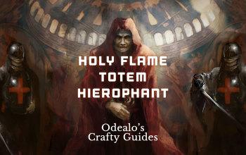 Holy Flame Totem Hierophant Templar build