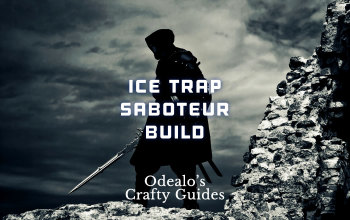 Ice Trap Saboteur PoE build