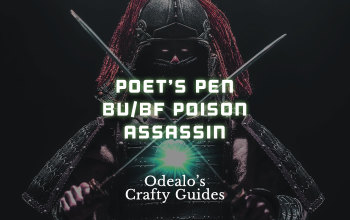 Poet's Pen Blade Vortex/Bladefall Poison Assassin - Odealo's Crafty Guide