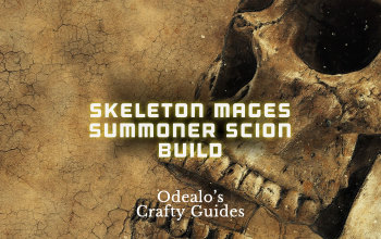 Skeleton Mages Summoner Scion - Odealo's Crafty Guide