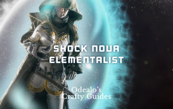 Shock Nova Witch Elementalist PoE build