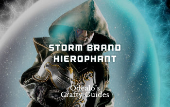 Storm Brand Hierophant build - Odealo's Crafty Guide