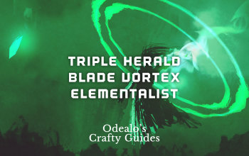 Triple Herald Blade Vortex Elementalist Starter Build - Odealo's Crafty Guide