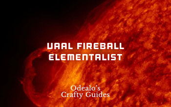 Vaal Fireball Ignite Proliferation Elementalist build - Odealo's Crafty Guide