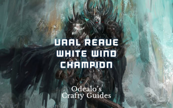 Vaal Reave White Wind Champion Build - Odealo's Crafty Guide