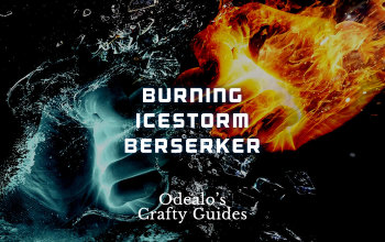 Burning Icestorm Blood Magic Berserker - Odealo's Crafty Guide