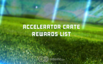 New Rocket League items - the Accelerator Crate Contents