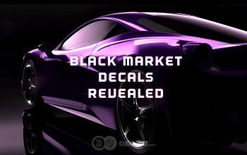 All Black Market Decals on the most popular Cars - Rocket League