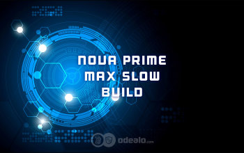 Nova Prime Max Slow Warframe build - Odealo