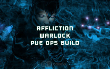 The Best Affliction Warlock PvE DPS build