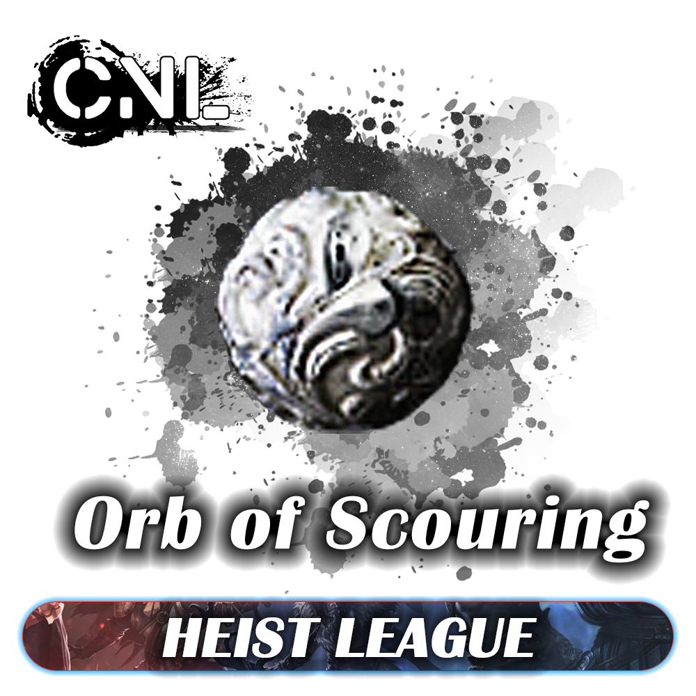 [PC] Orb of Scouring ★★★ Heist SC ★★★ 1-5 mins Delivery