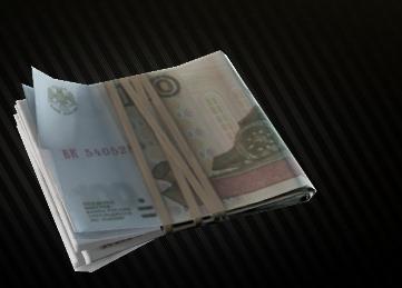 EFT - 1 million Roubles (1,000,000 rubs)
