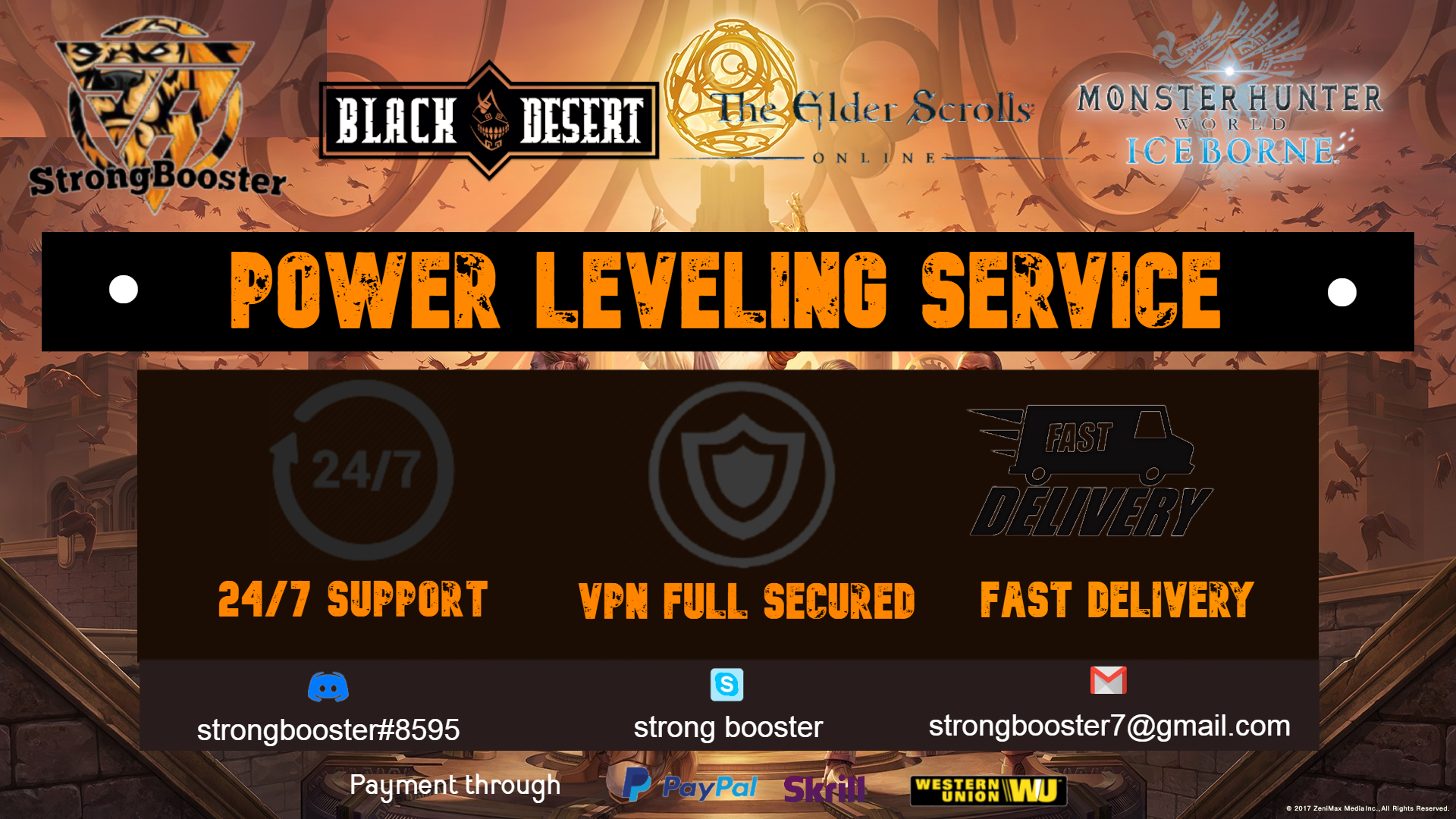 All Server WOW Clssic Power Leveling Service 1-60 all done by Hand with full VPN Secured 100% Safety