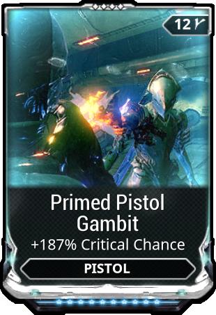 Primed Pistol Gambit 10/10 Max Rank | #197695611 - Odealo