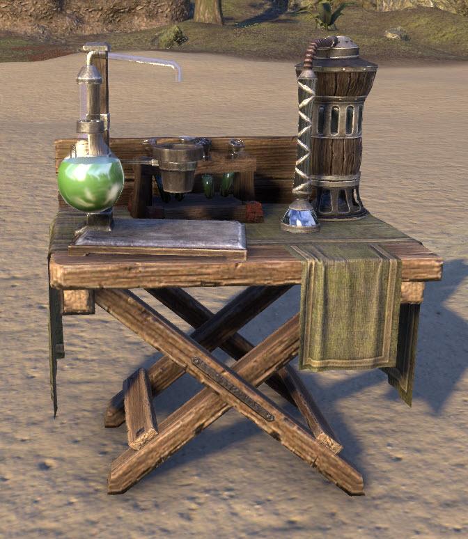 Alchemy Station TESO EU