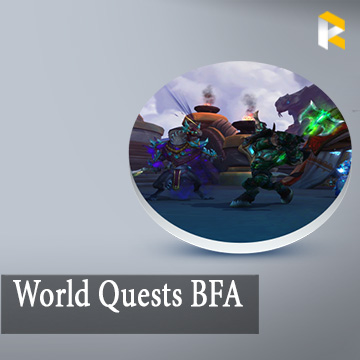World Quests BFA x10