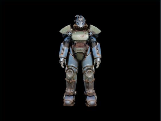 T-51 power armor set - Level 40