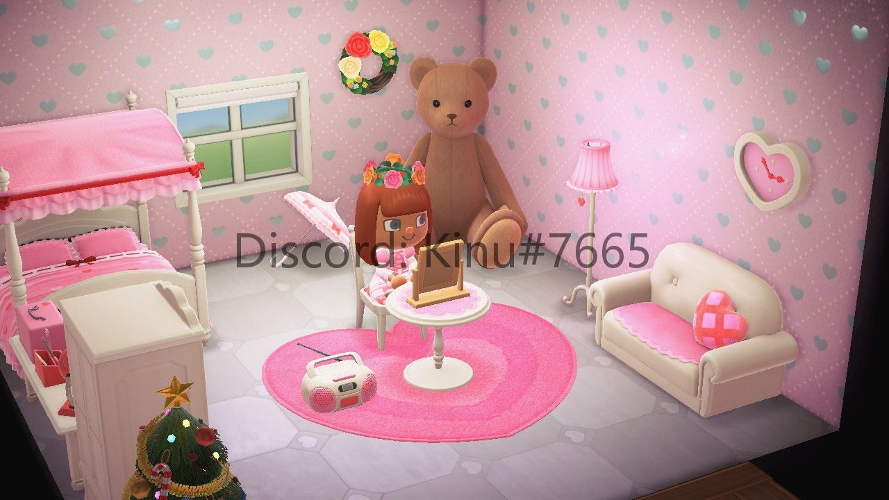 Animal Crossing New Horizons   Furnitures Princess Room Set ALL 23Pcs