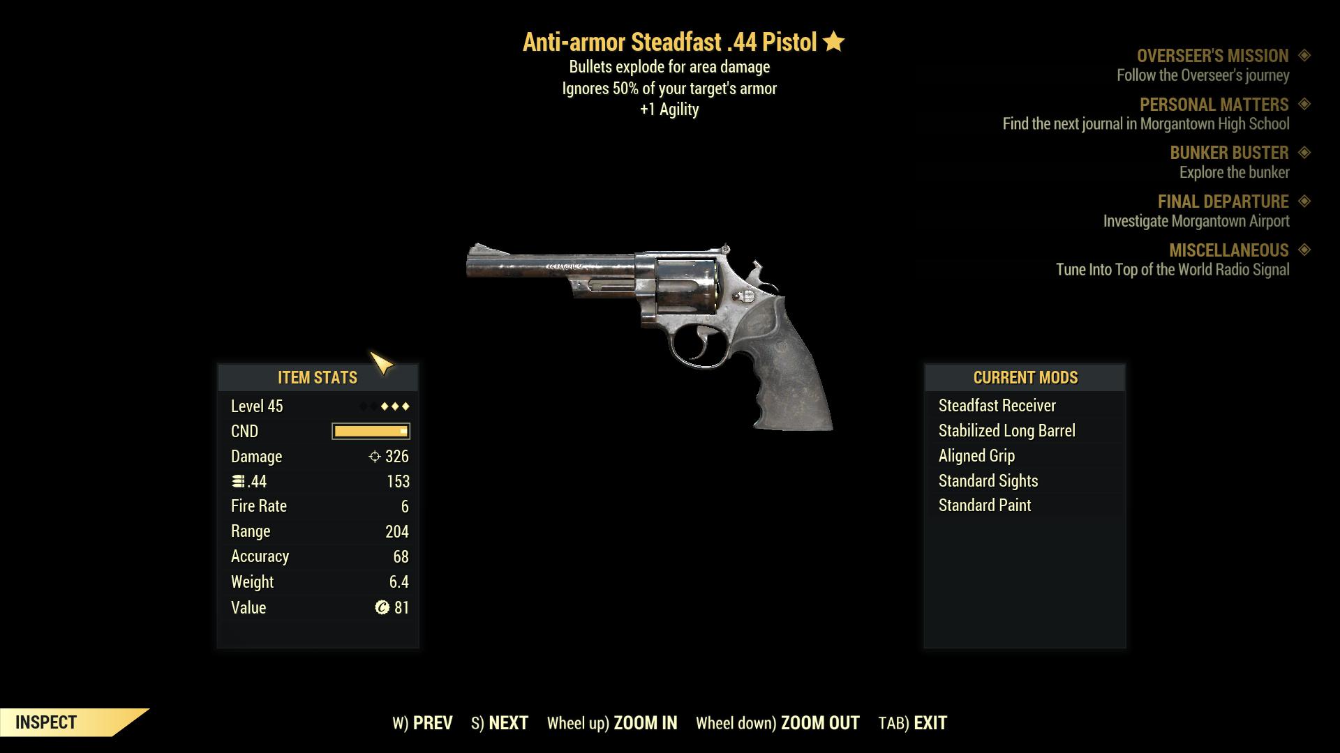 ★★★ Anti-Armor Explosive .44 Revolver   MAX LVL   FAST   STRESS FREE   CHEAP  