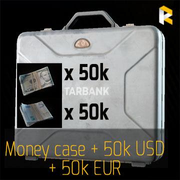 Money case + 50k USD  + 50k EUR EFT - fast & safe
