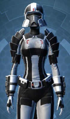 Dark Legionnaire Armor Set