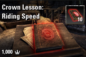 x10 Crown Lesson: Riding Speed [NA-PC]