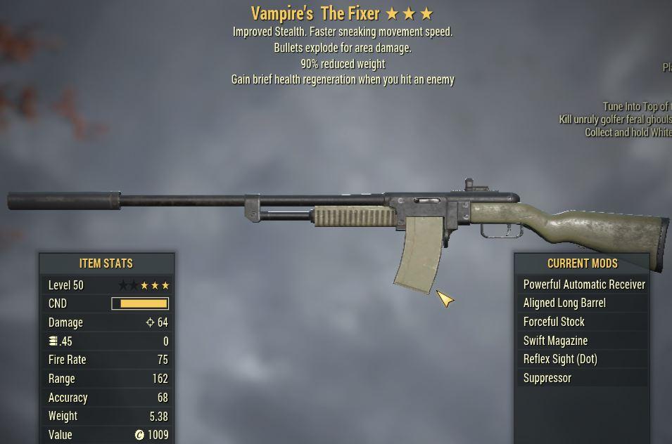 [PC] Vampire's Explosive The Fixer  [90WR]