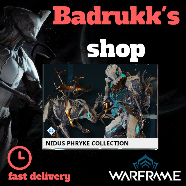 [PC/Steam] Nidus phryke collection // Fast delivery!