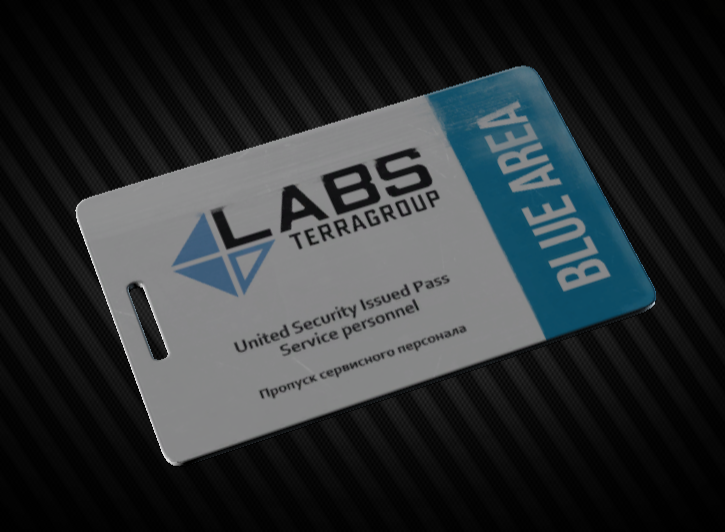 Lab. Blue Keycard Instant delivery