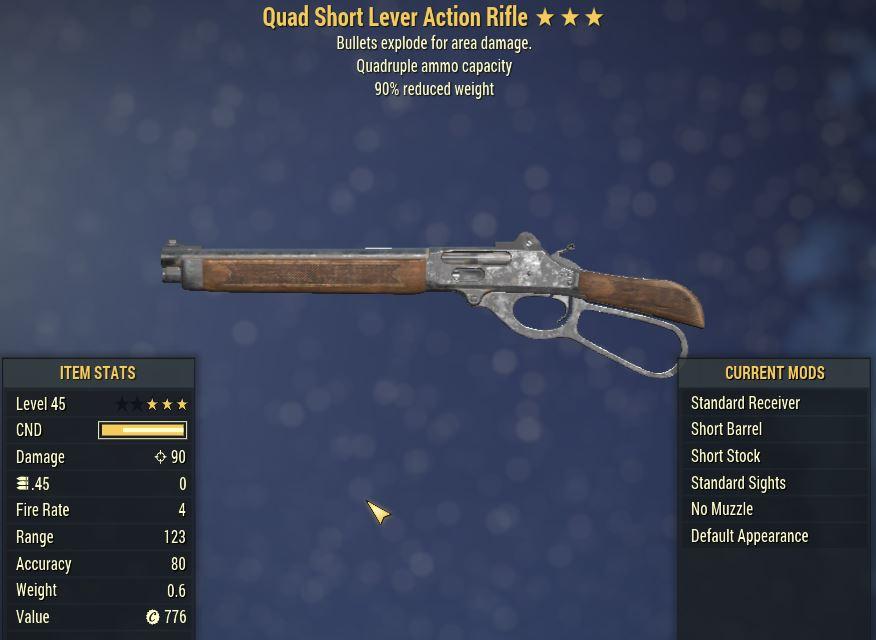 [PC] Quad Explosive Lever Action Rifle [90WR]