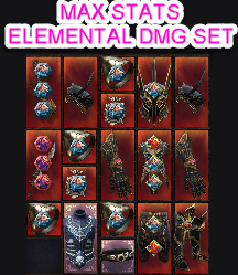 ✅☣ARCTIC SPEAR ELEMENTAL OR OCCULT MAGE BUNDLE ☣ALL MAX ROLLS✅+ 20 RARE DYES + 5B GOLD 500M AFFINITY
