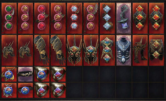 Best End Game Set 28 items, Farm 187 One Minute, 70000 Damage, 150000 Health丨Gold&Affinity丨Trial